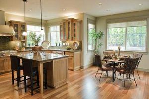 Opciones de material del suelo de la cocina
