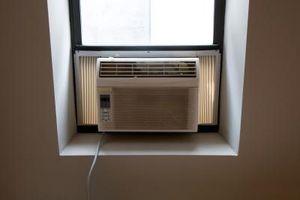 Como prueba de flujo de aire en un aparato de aire acondicionado