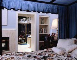 Cómo colgar cortinas con una valencia y de doble vástago