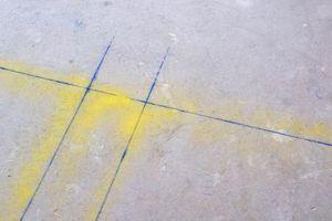 El nivel de humedad en un bloque de cemento