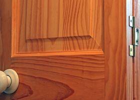 Como arena levantados puertas de panel