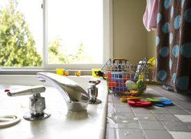 Cómo cubrir un contador de cocina con azulejo