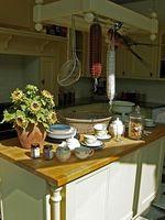 Estantes de cocina de bricolaje