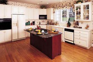 Hacer pisos de madera en una cocina de fugas Cuando se producen los derrames?