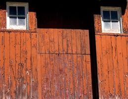 Como marco de una puerta holandesa