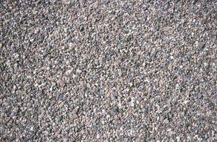 ¿Qué tipo de roca son los indicados para una pendiente Camino de entrada?