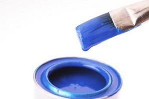 Ideas para un dormitorio azul y blanco