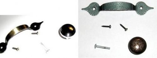 Cómo Refinish metal del gabinete perillas