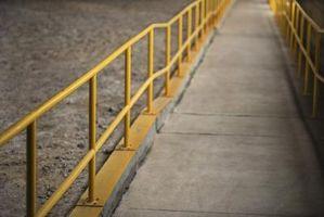 Cómo planificar una rampa para discapacitados para una residencia de conformidad con ADA