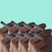 Cómo salir de una mancha de humo del cigarrillo
