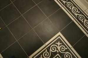 Cómo mezclar la plaza del azulejo y del azulejo de diamante