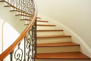 Cómo hacer curvas Escaleras