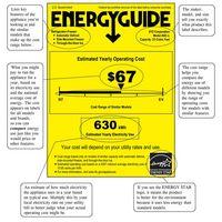 Cómo leer la etiqueta Energy Star para los utensilios del hogar