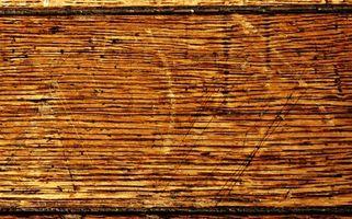 Como prueba de sonido viejo piso de madera