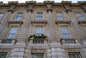 Estilos arquitectónicos ventana de cuadrícula