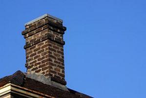 Lo que está muerto de ladrillo en una chimenea?