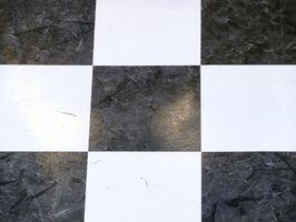 Diferentes opciones para el tablero de ajedrez de garaje Suelo