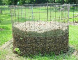 Cómo construir un compostador de la hoja