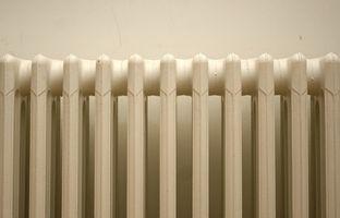 ¿Por qué los radiadores necesario purgar el aire?