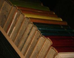 Cómo organizar un estante de libros