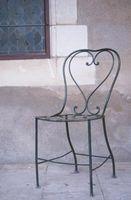 Cómo reparar muebles de hierro