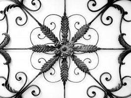 Colgantes de metal decoración de la pared