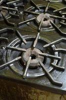 Instalación DIY Kenmore Estufa de gas