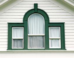 Tratamientos de ventana para múltiples habitaciones Windowed