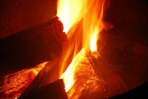 Cómo construir un pozo de fuego Con Trazos