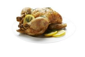 Cómo cocinar el pollo con un infrarrojo del quemador del asador