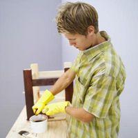 Cómo preparar Revestimiento de madera contrachapada muy sucio de Pintura