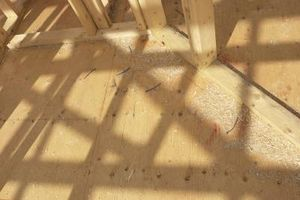 Cómo nivelar las vigas del piso desiguales en una casa vieja