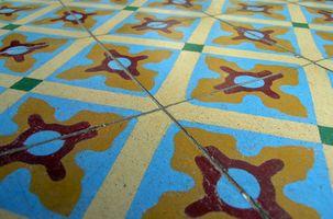 ¿Qué va a limpiar un suelo de baldosas y hacer que brille?