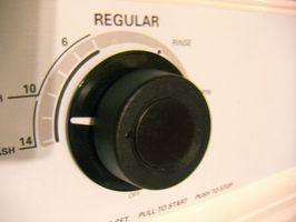 Cómo reparar una máquina lavadora temporizador
