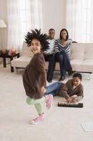 La diferencia entre los Grandes, Habitaciones familiares y salas de estar