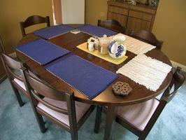 Cómo tapizar Sillas de comedor con la tela