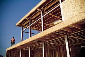 ¿Qué tamaño de madera para techos mi segundo piso?