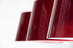 Tipos de archivos adjuntos Pantalla de lámpara