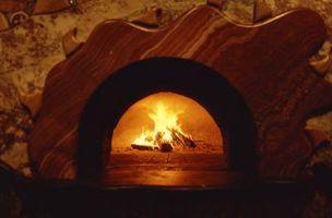 ¿Qué puede ser utilizado para limpiar hornos de ladrillo que son Pizza?