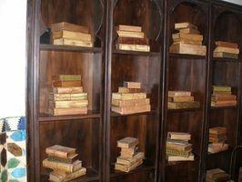 Ideas para estantes colgantes