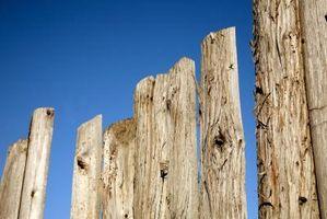 Cómo quitar un poste de la cerca rota