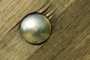 ¿Qué tipo de clavo se utiliza para Cedar Patio de madera?