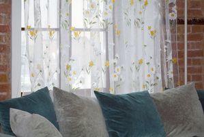 Cómo limpiar un sofá de chenilla