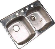 Cómo hacer un fregadero de acero Shine