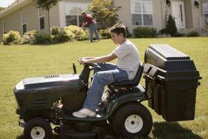 Cómo instalar un solenoide en un tractor para césped Craftsman