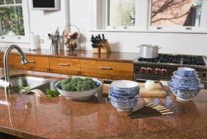 ¿Cuáles son las dimensiones mínimas para un Área de Preparación Mueble de cocina?