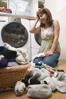Cómo borrar obstruidos drenajes de lavandería
