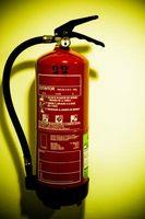 Los extintores de incendios utilizado para papel