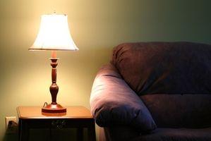 Cómo hacer una cortina de chapa de madera de la lámpara