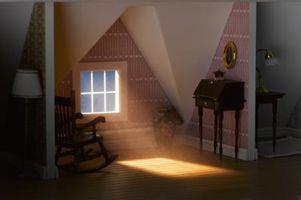 Cómo hacer uso de una sala pequeña, con un techo inclinado
